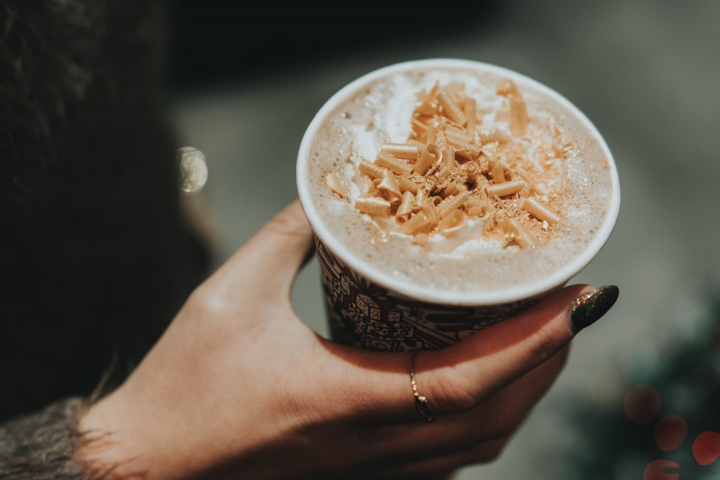 woman-holding-a-frappe